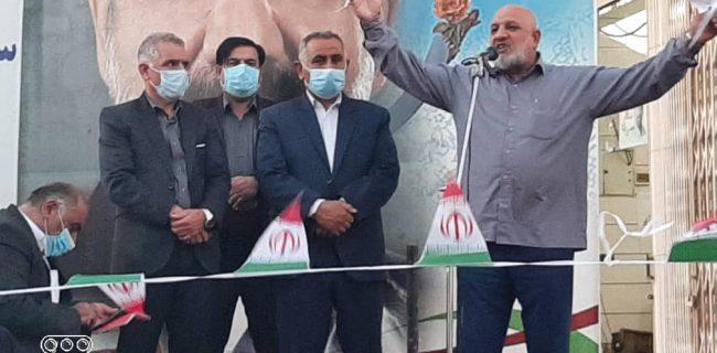 استقبال و همراهی گرم مردم از افتتاح ستاد محسن رضایی در ایذه+تصاویر