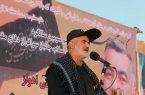 مراسم سومین سالگرد شهادت سردار حاج حسین منجزی شهید حادثه تروریستی اهواز